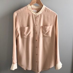 Like New! Equipment silk blouse